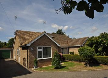 Thumbnail 2 bed semi-detached bungalow for sale in Thaxted Road, Saffron Walden, Essex