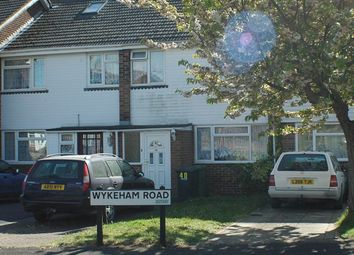 Thumbnail 3 bedroom terraced house to rent in Wykeham Road, Netley Abbey