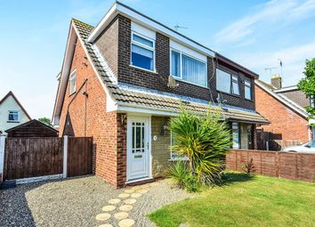Thumbnail 3 bed semi-detached house for sale in Llewelyn Court, Rhyl