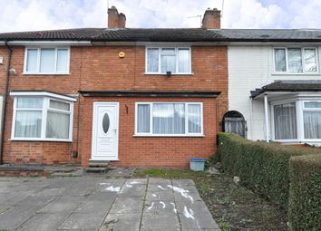 Thumbnail 2 bed terraced house for sale in Derwent Road, Birmingham