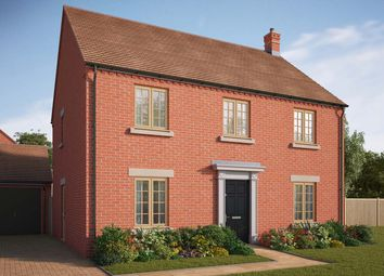 "Thumbnail 4 bedroom detached house for sale in ""The Hyde"" at Central Avenue, Brampton, Huntingdon"