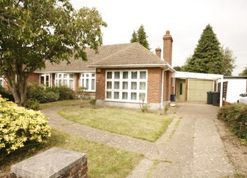 Thumbnail 3 bed semi-detached bungalow for sale in Wattendon Road, Kenley