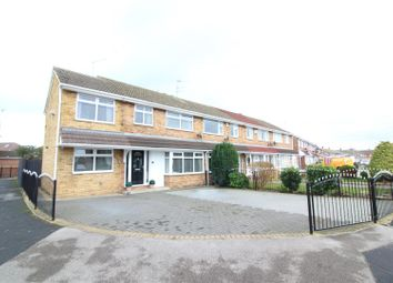 Thumbnail 4 bed end terrace house for sale in Glenwood Close, Hull