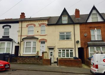 Thumbnail 4 bedroom terraced house for sale in Algernon Road, Birmingham, West Midlands