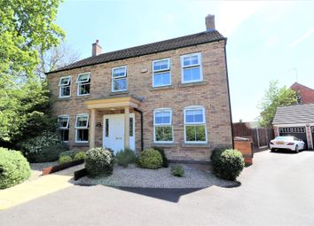 Thumbnail Detached house for sale in Newbury Close, Corby