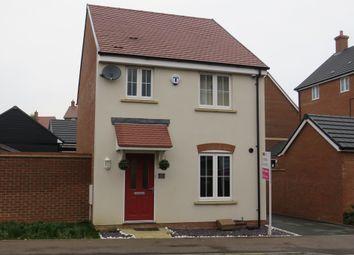 Thumbnail 3 bed detached house for sale in Shetland Meadows, Newton Leys, Milton Keynes
