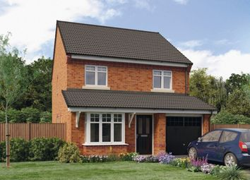 Thumbnail 4 bed detached house for sale in The Greene Croston Road, Farington Moss, Leyland