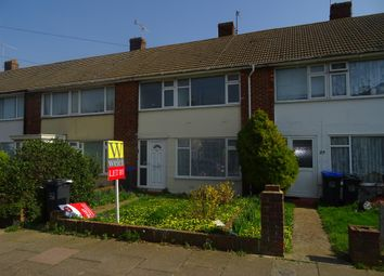 Thumbnail 3 bed terraced house to rent in Thesiger Road, Worthing