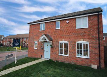 Thumbnail 3 bed detached house for sale in Stonebridge Way, Calverton, Nottingham