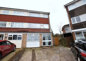 Thumbnail 4 bedroom end terrace house for sale in Standring Rise, Hemel Hempstead