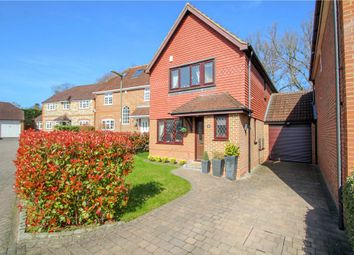 Thumbnail 3 bed detached house for sale in Heywood Drive, Bagshot, Surrey