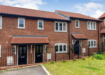 Thumbnail 2 bed terraced house for sale in Kost Road, Costessey, Norwich