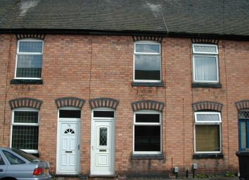 Thumbnail 2 bed terraced house to rent in Grove Road, Atherstone
