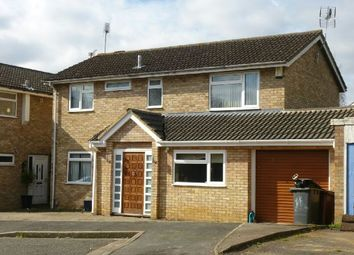 Thumbnail 4 bedroom detached house to rent in Dulverton Road, Abington Vale, Northampton