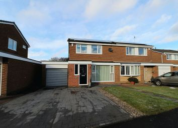 Thumbnail 3 bed semi-detached house for sale in Druridge Crescent, Blyth