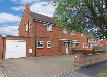 Thumbnail 3 bed semi-detached house for sale in Unitt Road, Quorn, Loughborough