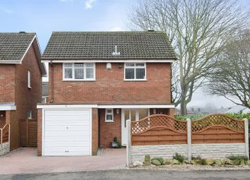 Thumbnail 3 bed detached house for sale in Belt Road, Hednesford, Cannock