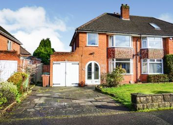 Thumbnail 3 bed semi-detached house for sale in St. Gerards Road, Solihull