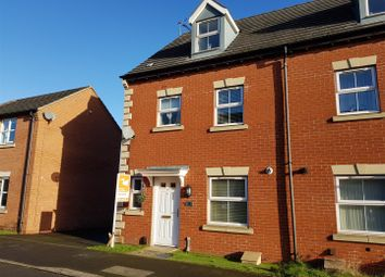 Thumbnail 4 bedroom town house for sale in Thoresby Road, Mansfield Woodhouse, Mansfield