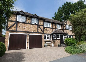 Thumbnail 5 bed detached house for sale in Leycester Close, Windlesham