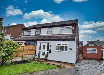 3 bed semi-detached house for sale in Burton Close, Prescot, Merseyside L35
