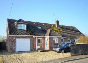 Thumbnail 4 bed semi-detached house for sale in Mary Gardens, Okeford Fitzpaine, Blandford Forum