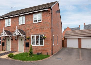 3 bed semi-detached house for sale in Moat Close, Newbold Verdon, Leicester LE9