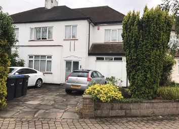Thumbnail 4 bed semi-detached house to rent in Willow Road, Enfield Town