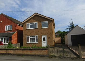 Thumbnail 3 bed detached house for sale in Holyoake Street, Enderby, Leicester