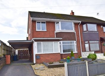 Thumbnail 3 bed semi-detached house for sale in Hollies Drive, Meir Heath, Stoke-On-Trent