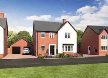 Thumbnail 4 bedroom detached house for sale in Station Road, Ibstock