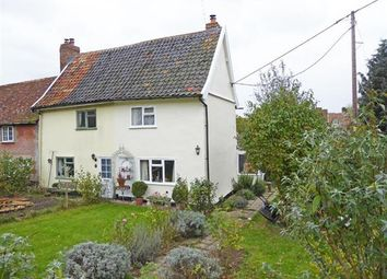 Thumbnail 2 bed cottage for sale in Church Path, Rattlesden, Bury St. Edmunds