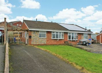Thumbnail 2 bedroom semi-detached bungalow for sale in Westmorland Close, Stoke-On-Trent, Staffordshire
