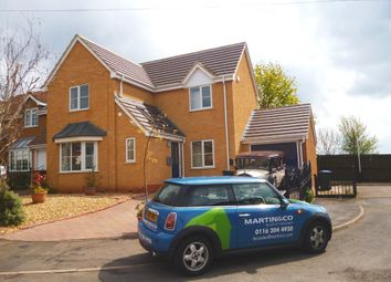 Thumbnail 3 bedroom detached house to rent in Tudor Grove, Groby, Leicester