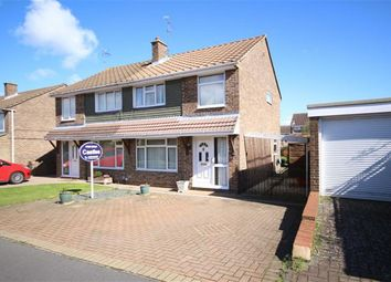 Thumbnail 3 bed semi-detached house for sale in Hewitt Close, Swindon