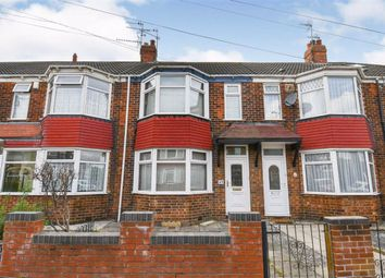 Thumbnail 2 bed terraced house for sale in Luton Road, Spring Bank West, Hull
