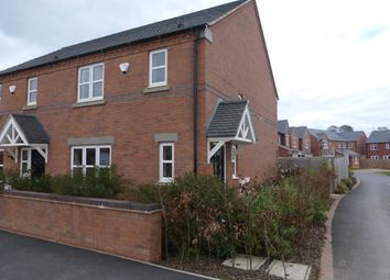 Thumbnail 3 bed semi-detached house to rent in Weavers Court, Newton, Alfreton