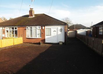 Thumbnail 2 bed detached bungalow to rent in Cinnamon Lane, Fearnhead, Warrington