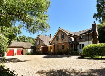 Thumbnail 6 bed detached house for sale in Sway Road, Lymington, Hampshire