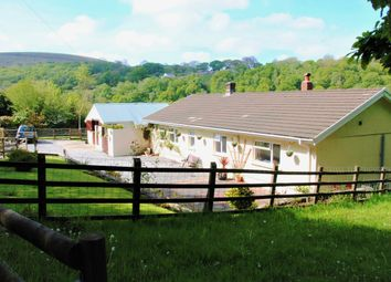 Thumbnail 3 bed detached bungalow for sale in Cwmfelin Road, Betws, Ammanford