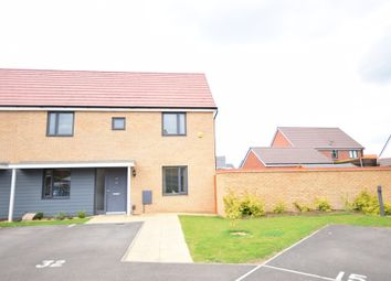 Thumbnail 3 bed semi-detached house for sale in Ellis Close, Wootton, Bedford
