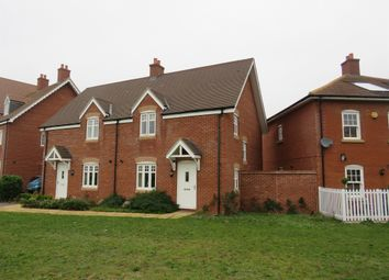 Thumbnail 3 bed semi-detached house for sale in Downham Close, Great Denham, Bedford