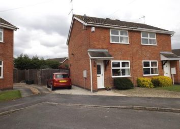 Thumbnail 2 bed semi-detached house for sale in Newby Close, Whetstone, Leicester, Leicestershire