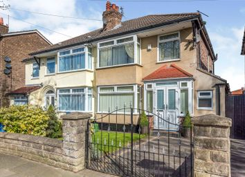 Thumbnail 3 bed semi-detached house for sale in Blackmoor Drive, West Derby, Liverpool