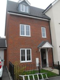 Thumbnail 3 bed town house to rent in Wagtail Drive, Stowmarket