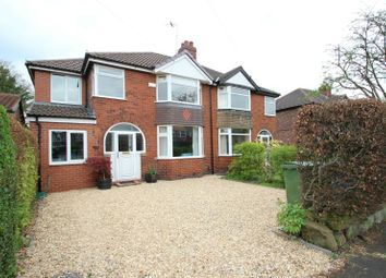 Thumbnail 5 bedroom semi-detached house for sale in Woodhouse Lane East, Timperley, Altrincham