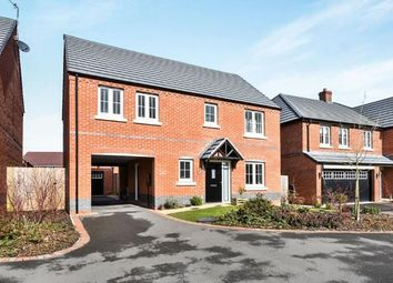 Thumbnail 4 bed detached house for sale in Ash Tree Road, Ashby-De-La-Zouch, .