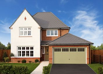 "Thumbnail 4 bed detached house for sale in ""Welwyn"" at Ledsham Road, Little Sutton, Ellesmere Port"