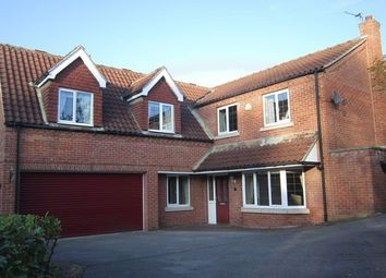 Thumbnail 5 bed detached house to rent in Hawthorne Close, Glentworth, Gainsborough