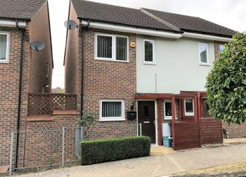 Thumbnail 2 bed semi-detached house for sale in Bullrush Walk, Northampton
